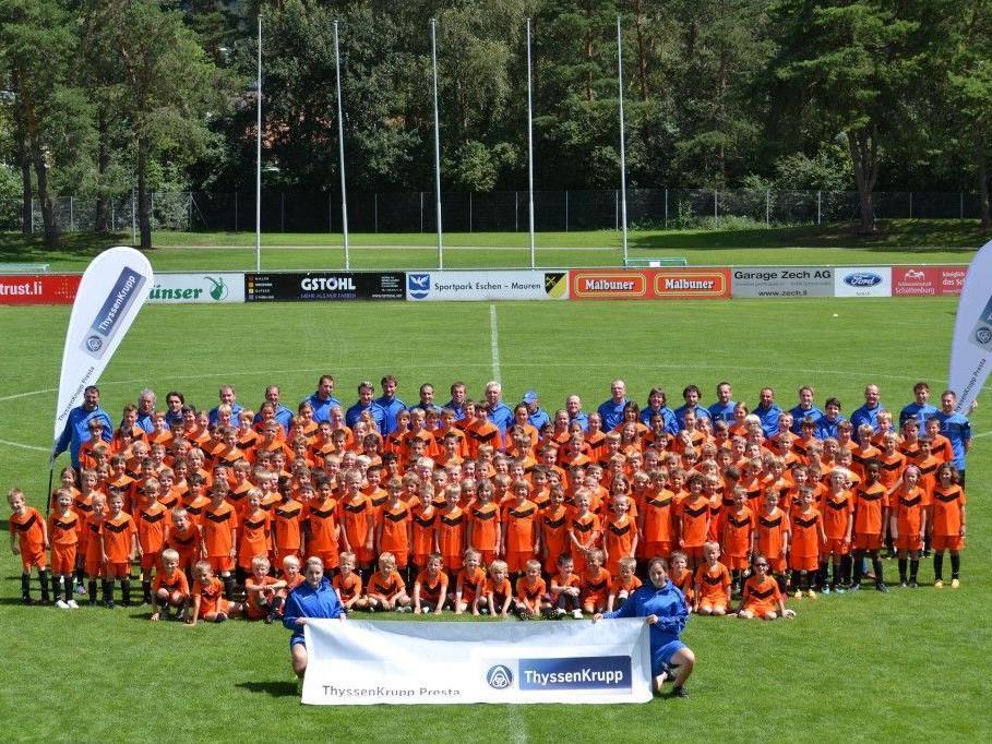 Das Liechtensteiner Camp in Eschen fand mit Ländle-Beteiligung statt.