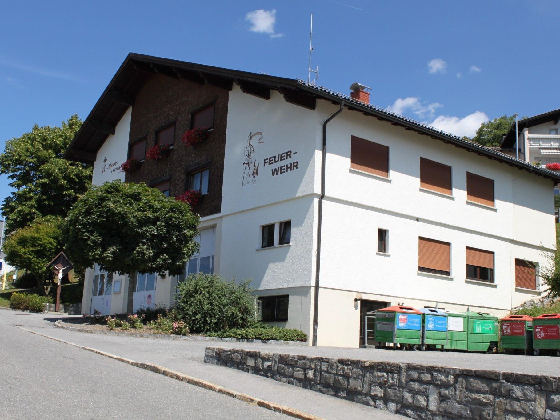 Bewirtung beim Feuerwehrhaus Viktorsberg im Rahmen des Alpabtriebs am 14.9.