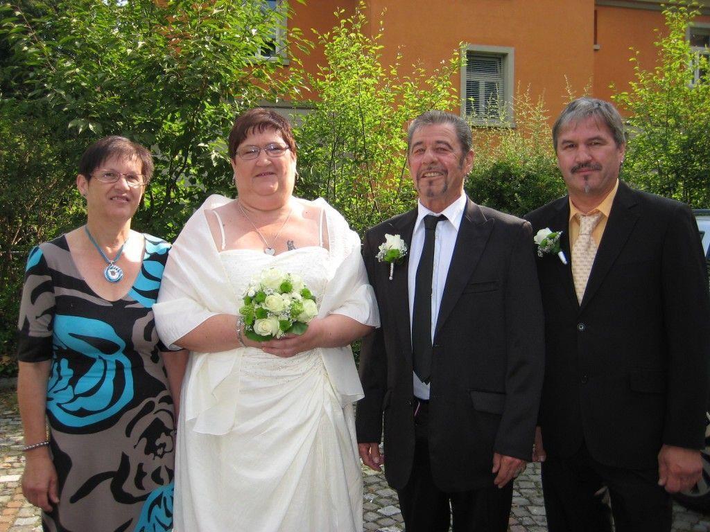Renate Gabriel und Josef Hechenberger haben geheiratet.