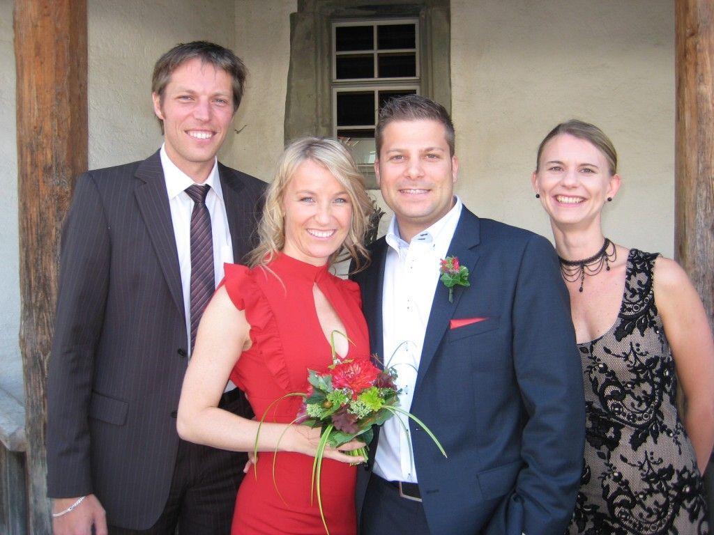 Eva Lina Holzinger und Stephan Hassler haben geheiratet.