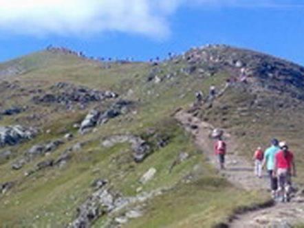 Auf der Silvretta-Gebirgswanderung.