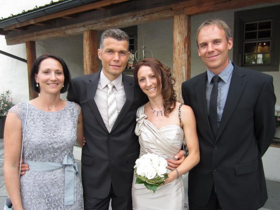 Tanja Gehrer und Peter Loacker haben geheiratet.