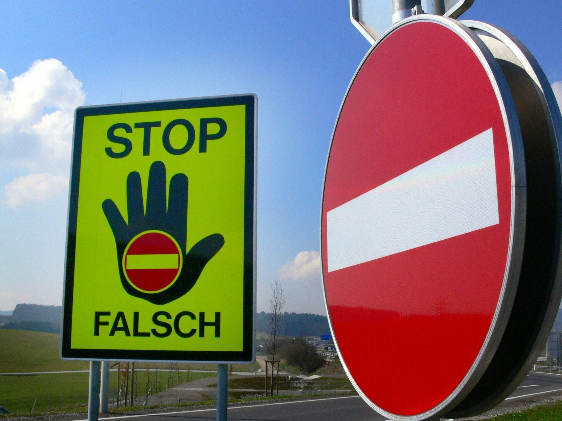 Ein Geisterfahrer-Unfall in Oberösterreich forderte zwei Schwerverletzt.