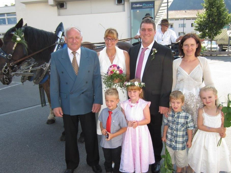 Daniela Hieble und Andreas Berchtold haben geheiratet.