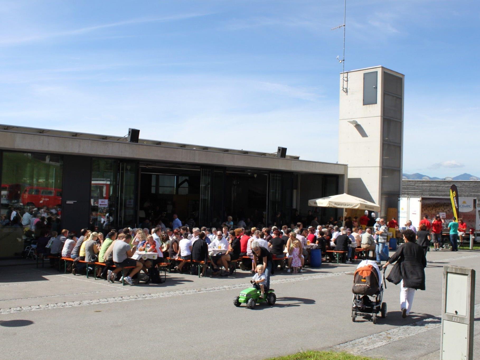 Die Fraxner Kilbi findet erstmals an 2 Tagen statt - dem 8. und 9. September 2012.