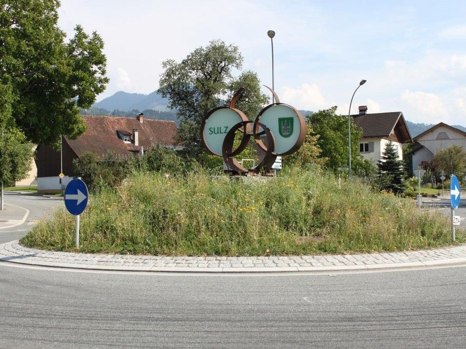 Kreisverkehr Sulz-Röthis