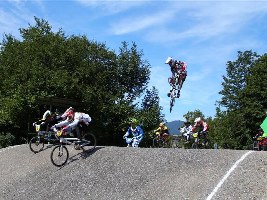 Tolles BMX-Weekend in Bludenz.