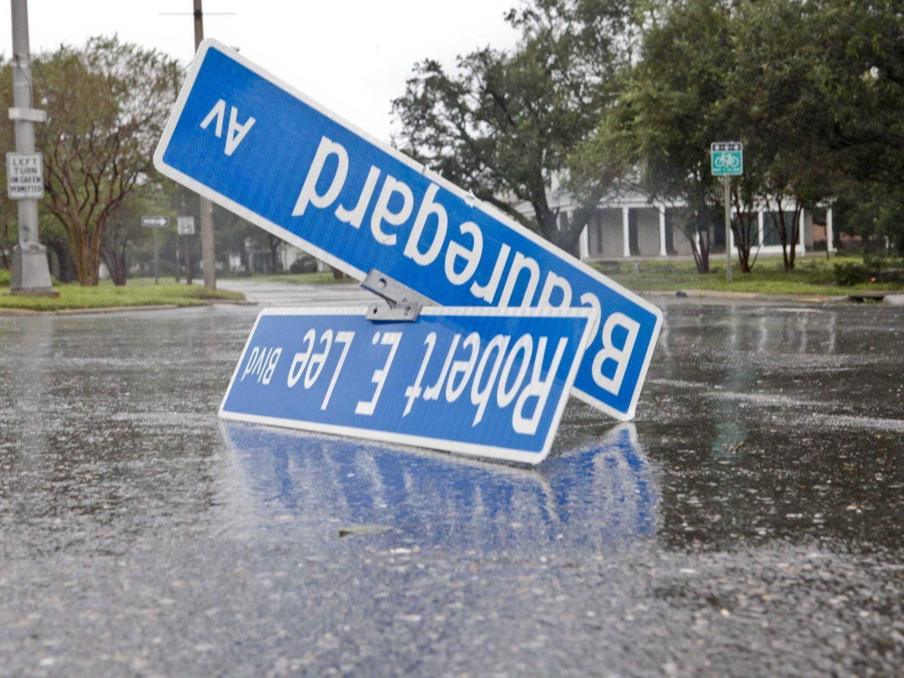 """Sturm """"Isaac"""" verwüstet den US-amerikanischen Süden."""