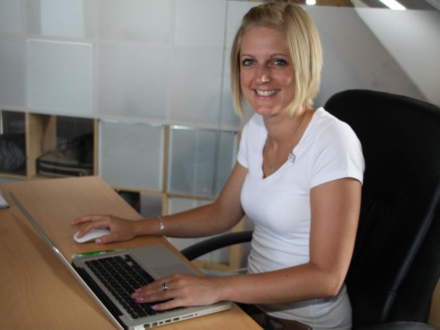 Schon zwölf Monate arbeitet die Deutsche Kerstin Scholl für den Privatsender Ländle-TV.