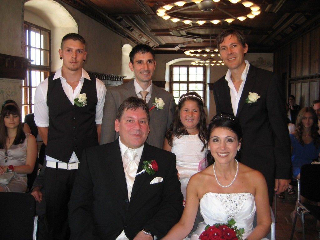 Tanja Atil und Oliver Mersnik haben geheiratet.