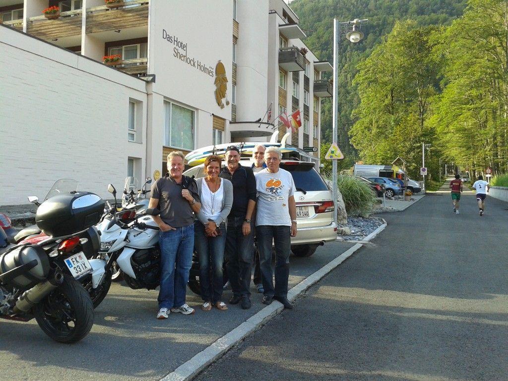Viel Spaß hatte die PVÖ-Motorradgruppe in der Schweiz