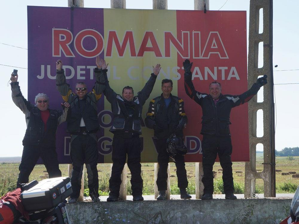 Rumänien, Grenze
