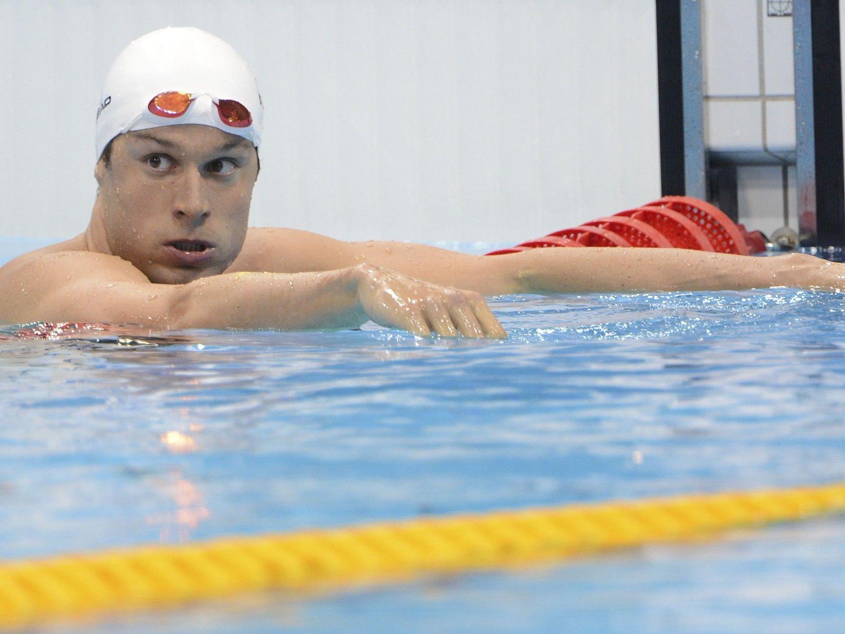 Disqualifikation im Semifinale über 200 m Lagen wahrscheinlich letztes internationales Rennen für Markus Rogan.