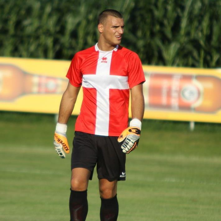 Brederis-Goalie Dominic Hehle war der Matchwinner im Spiel in Nüziders.