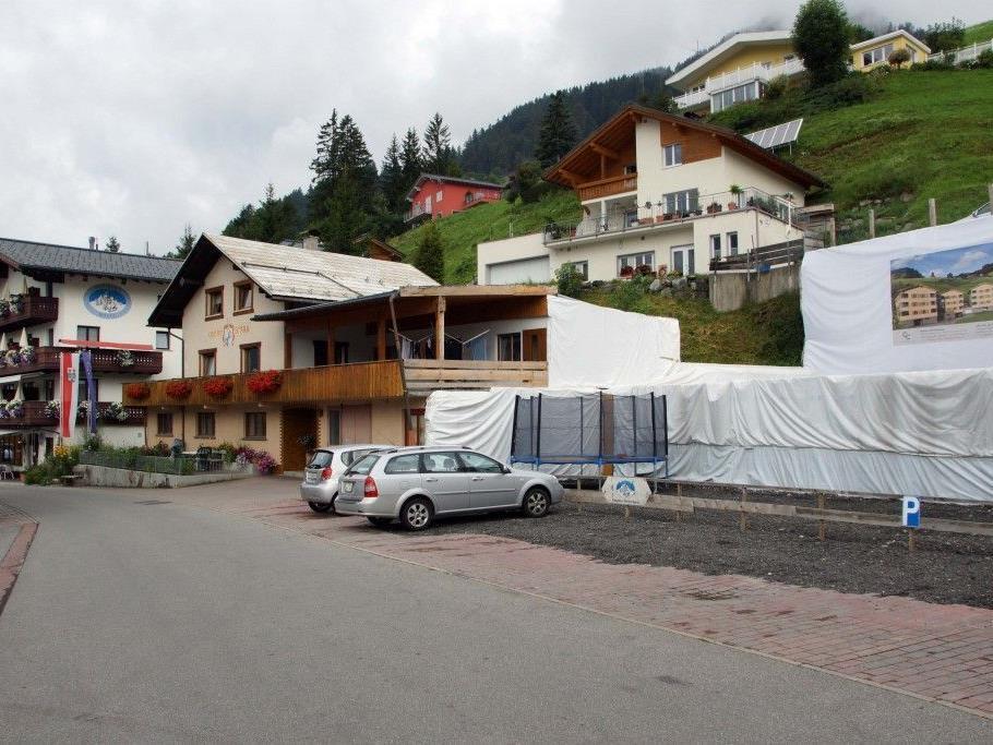 Für das Fontaneller Dorfzentrum  gibt es große Hotel- und Appartement-Pläne.