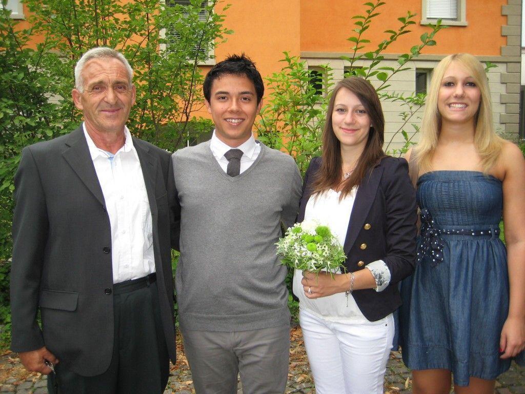 Edina Redzic und Sebastian Garcia Mauer haben geheiratet.