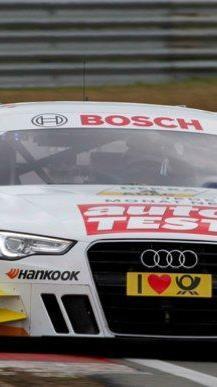 Timo Scheider stellte seinen A5 DTM auf die Pole Position