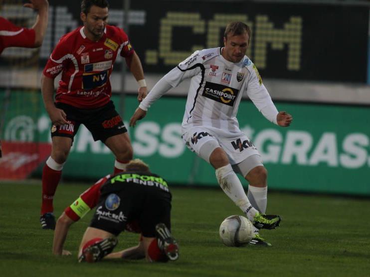 Patrick Seeger (re.) wechselt zur Admira in die Bundesliga