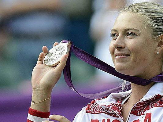 Für Tennis-Silbermedaillengewinnerin Maria Scharapowa war die Cafeteria im Olympischen Dorf keine erholsame Erfahrung.