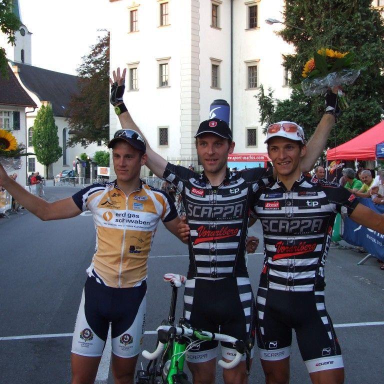 Doppelsieg für das Team Vorarlberg beim Heim-Kriterium in Hohenems.