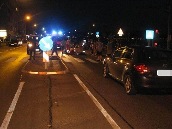 Bild vom Unfallort in Lochau.