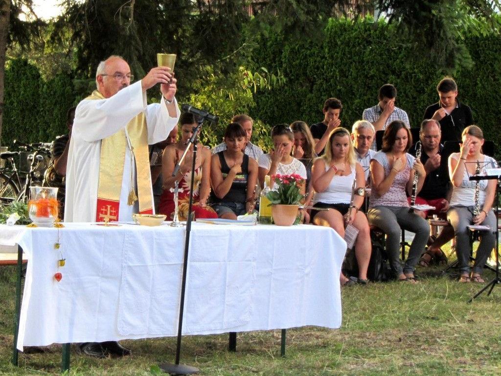 Leiblacher Feldmesse mit Pfarrer Roland Trentinaglia