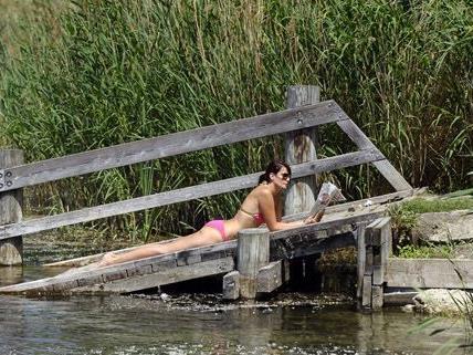 Auch in Wiens Naturgewässern kann man sich entspannen und abkühlen.