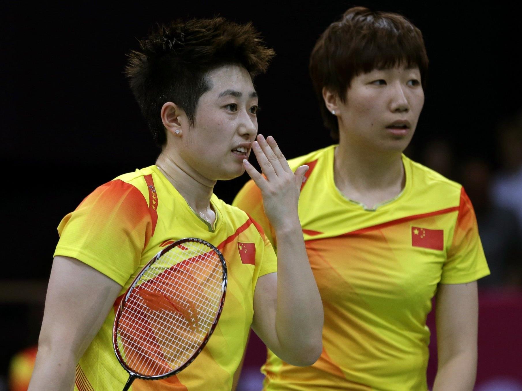 Das topgesetzte chinesische Damendoppel Wang Xiaoli und Yu Yang hat sein Gruppenspiel absichtlich verloren. Das Publikum reagierte empört.