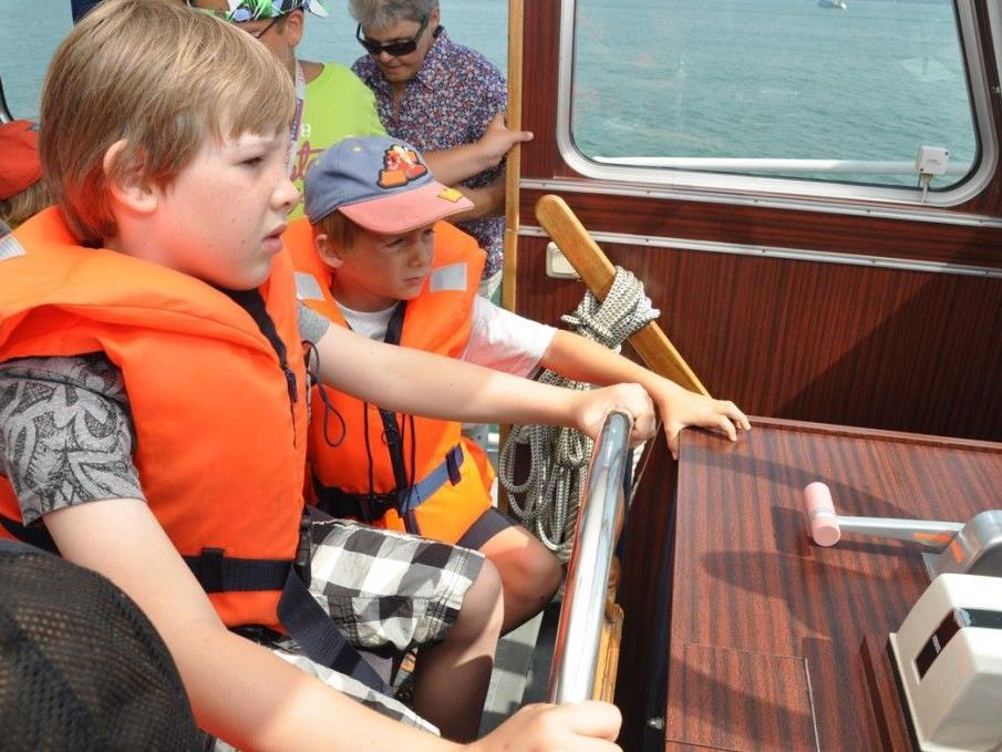 Eine Fahrt mit der Seepolizei steht ebenfalls auf dem Programm.