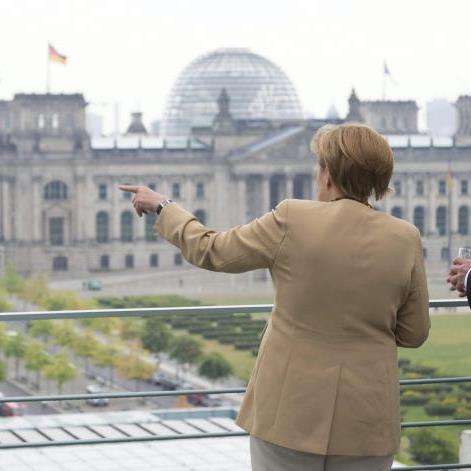 Merkel und Samaras trafen sich in Berlin