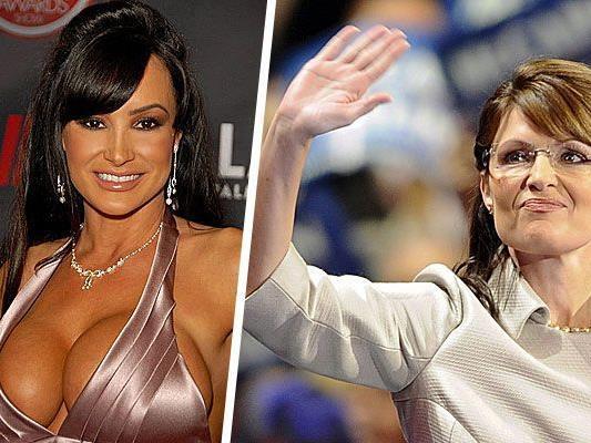 Porno-Star Lisa Ann (links) und Sarah Palin (rechts)