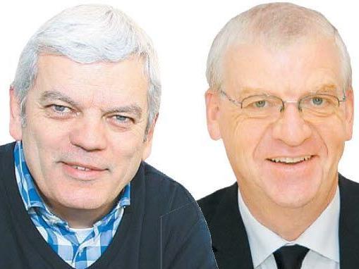 Wollen nicht in die Stronach-Partei: Unternehmer Zech, VHS-Direktor Türtscher