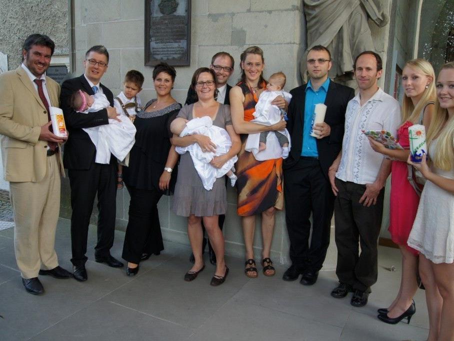 Besondere Tauffeier in der St.-Gallus-Kirche am 4. August.