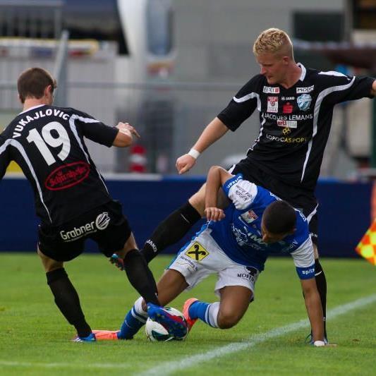 FC Lustenau verlor das Heimspiel gegen Hartberg mit 0:1, bleibt aber Sechster.