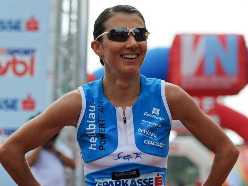 Laufwunder Sabine Reiner platzierte sich am Wörthersee auf dem fünften Endrang.