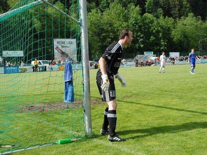 Torhüter Jürgen Schneider parierte einen Elfmeter