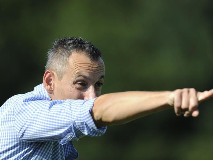 Bregenz-Trainer Mladen Posavec war über den ersten Saisonsieg hocherfreut.