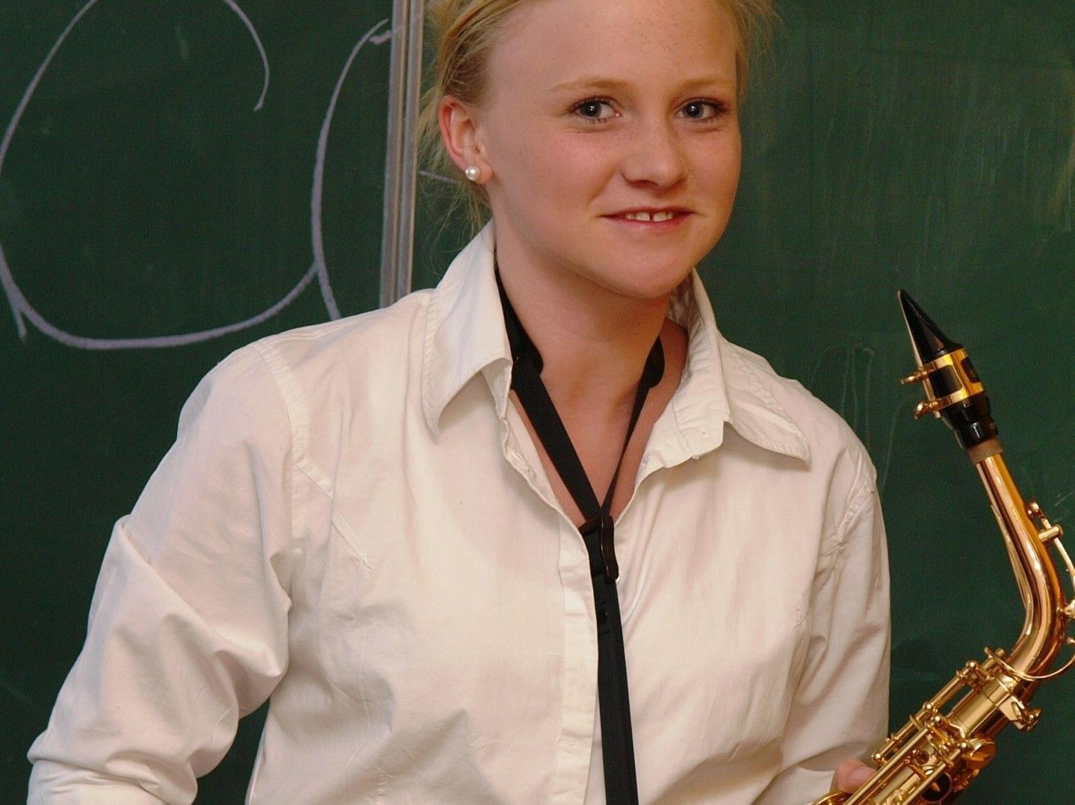 Musikerin der Stadtmusik Bregenz