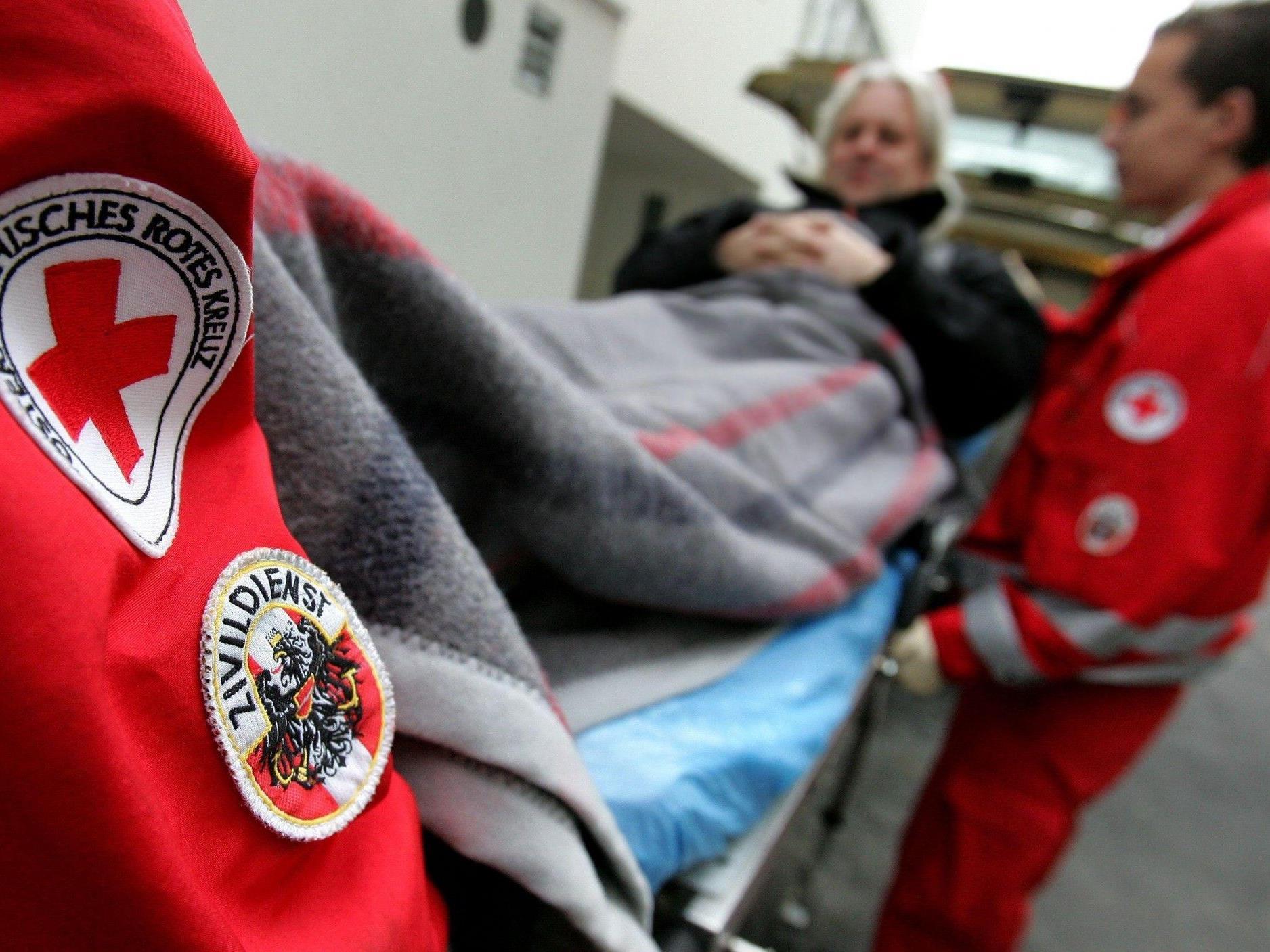Ohne Zivildiener müssten Patienten auf Krankentransporte länger warten.