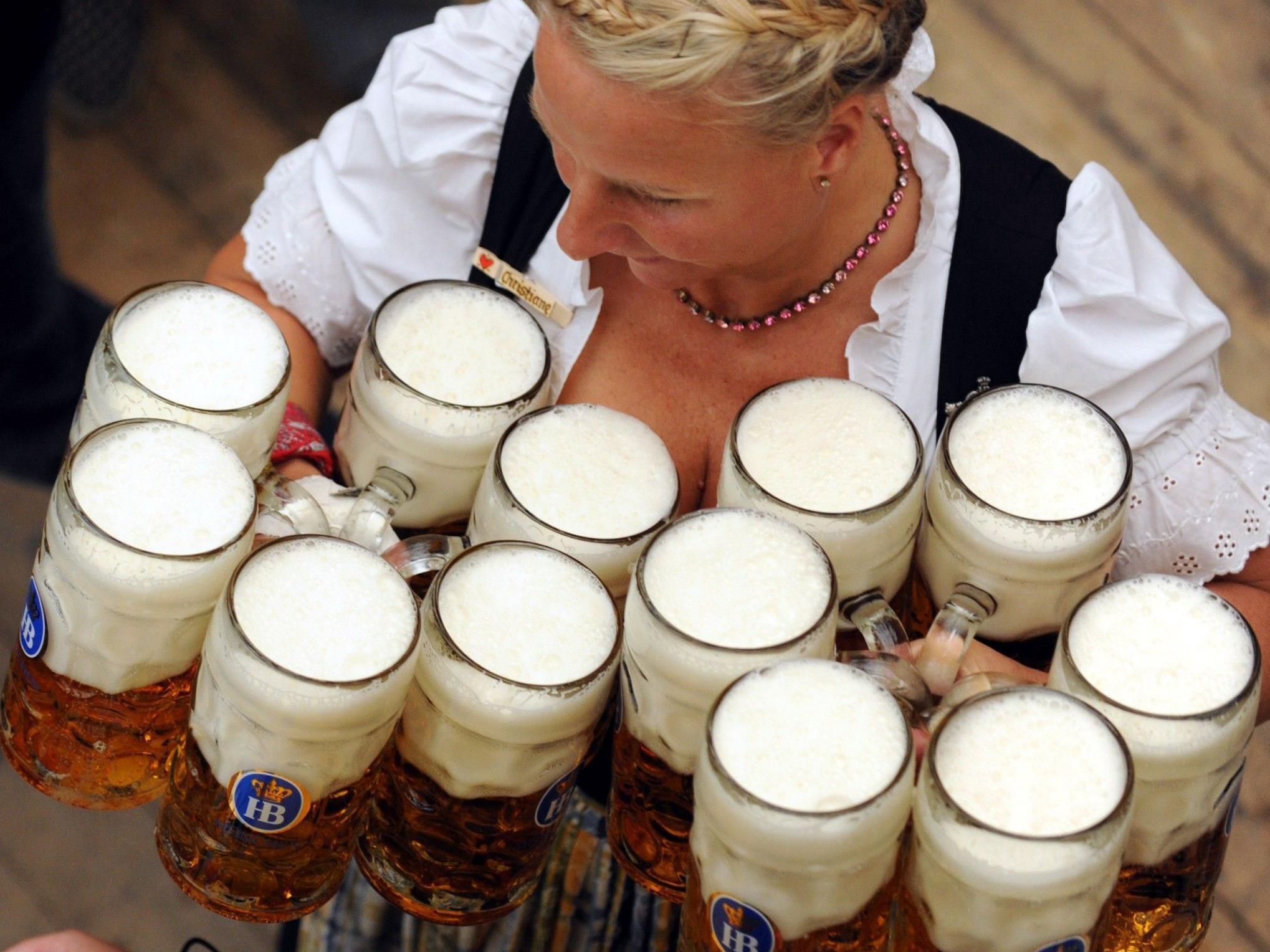 Das größte Volksfest der Welt: Oktoberfest in München vom 22.09. bis 07.10.2012.