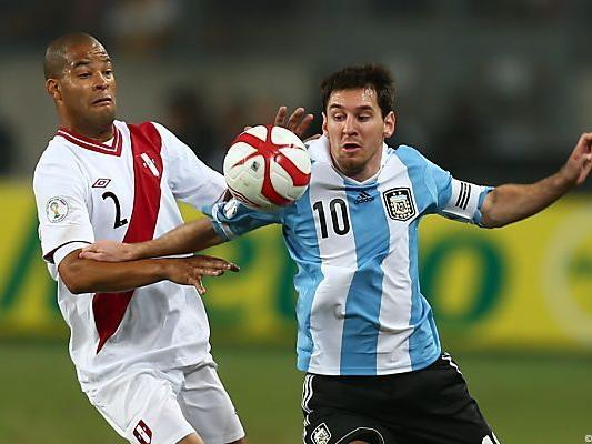 Messi mit schwachem Spiel