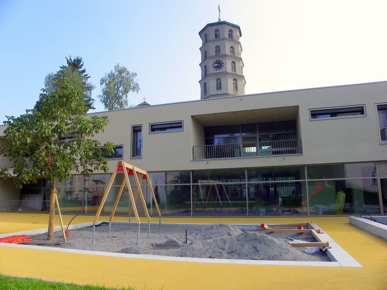 Kindergarten wurde planmäßig fertiggestellt