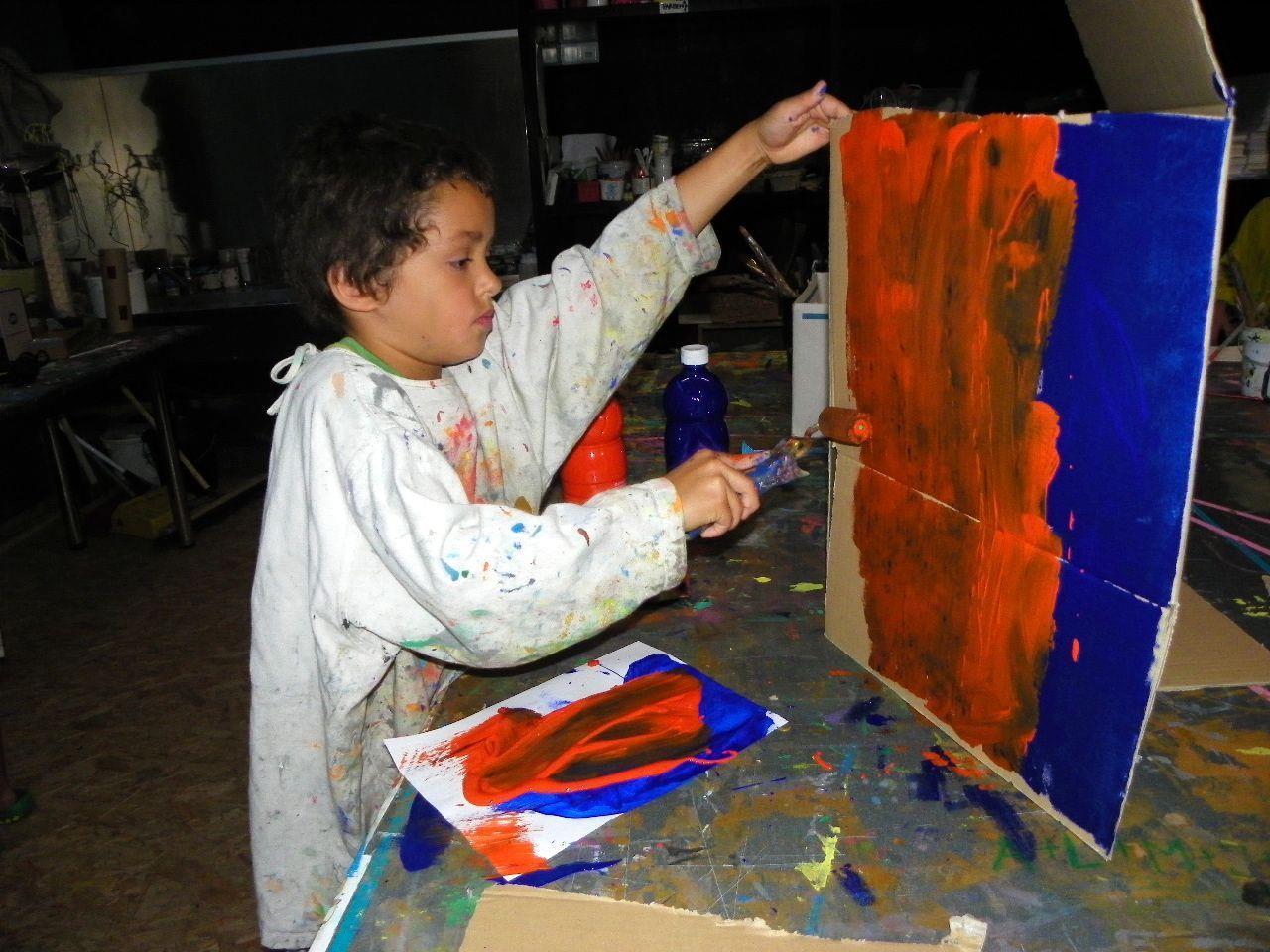 Früh übt sich, wer ein Künstler werden will