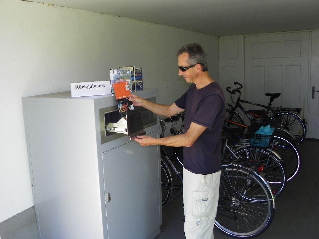Praktische Rückgabe beim Automaten