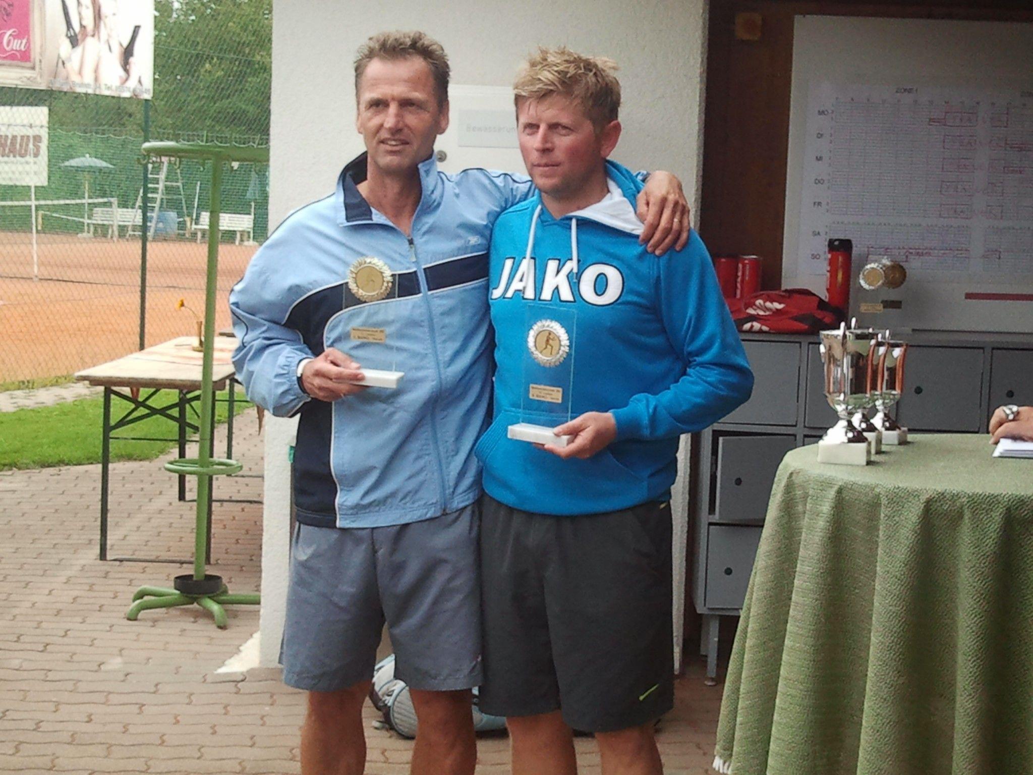 Markus Hack und Ali Keskin kämpften im Finale um den Titel in der Herrenbewerb