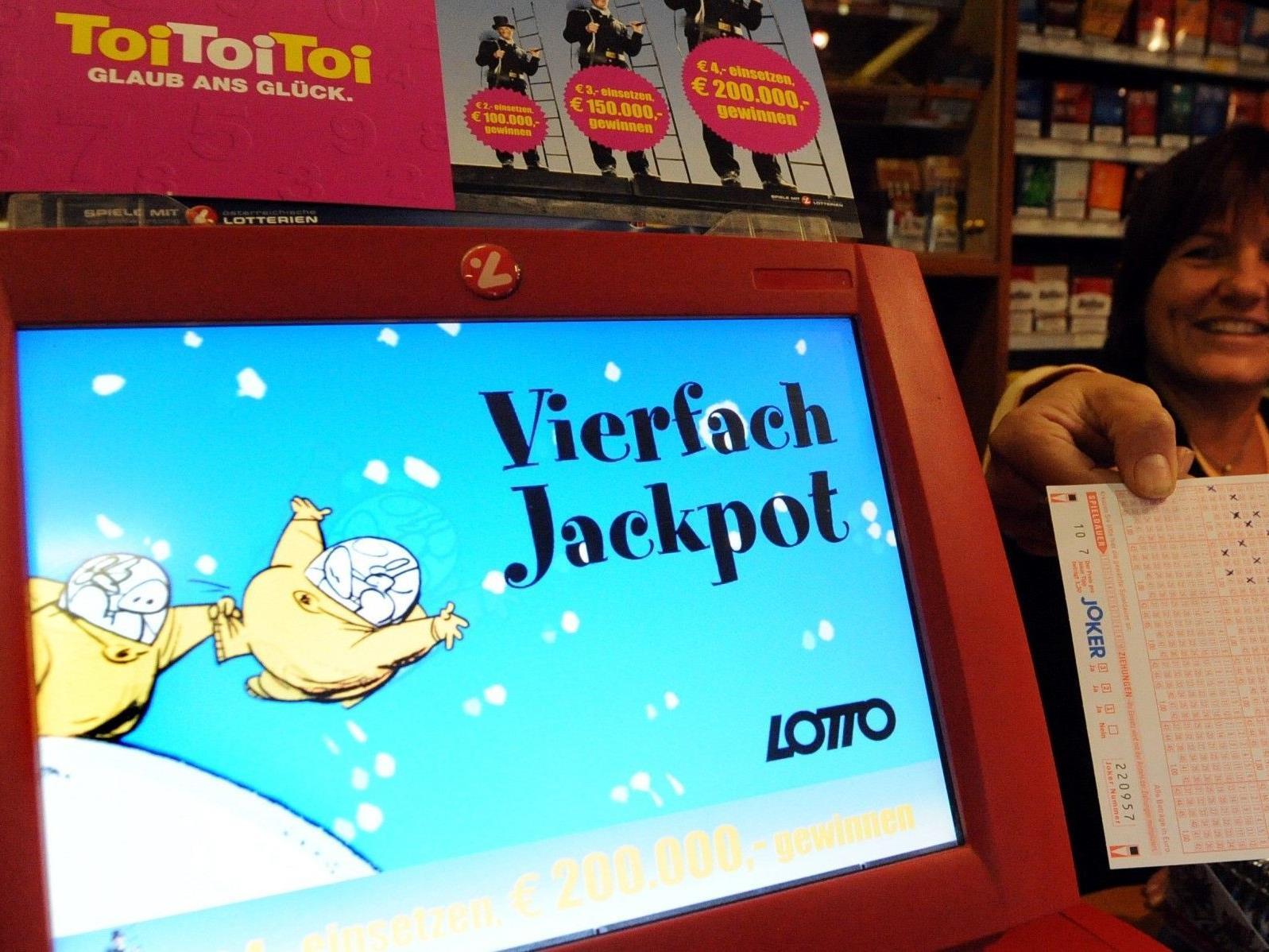 Am Sonntag geht es bei der Lotto-Ziehung bei einem Vierfach Jackpot um 7 Millionen Euro.