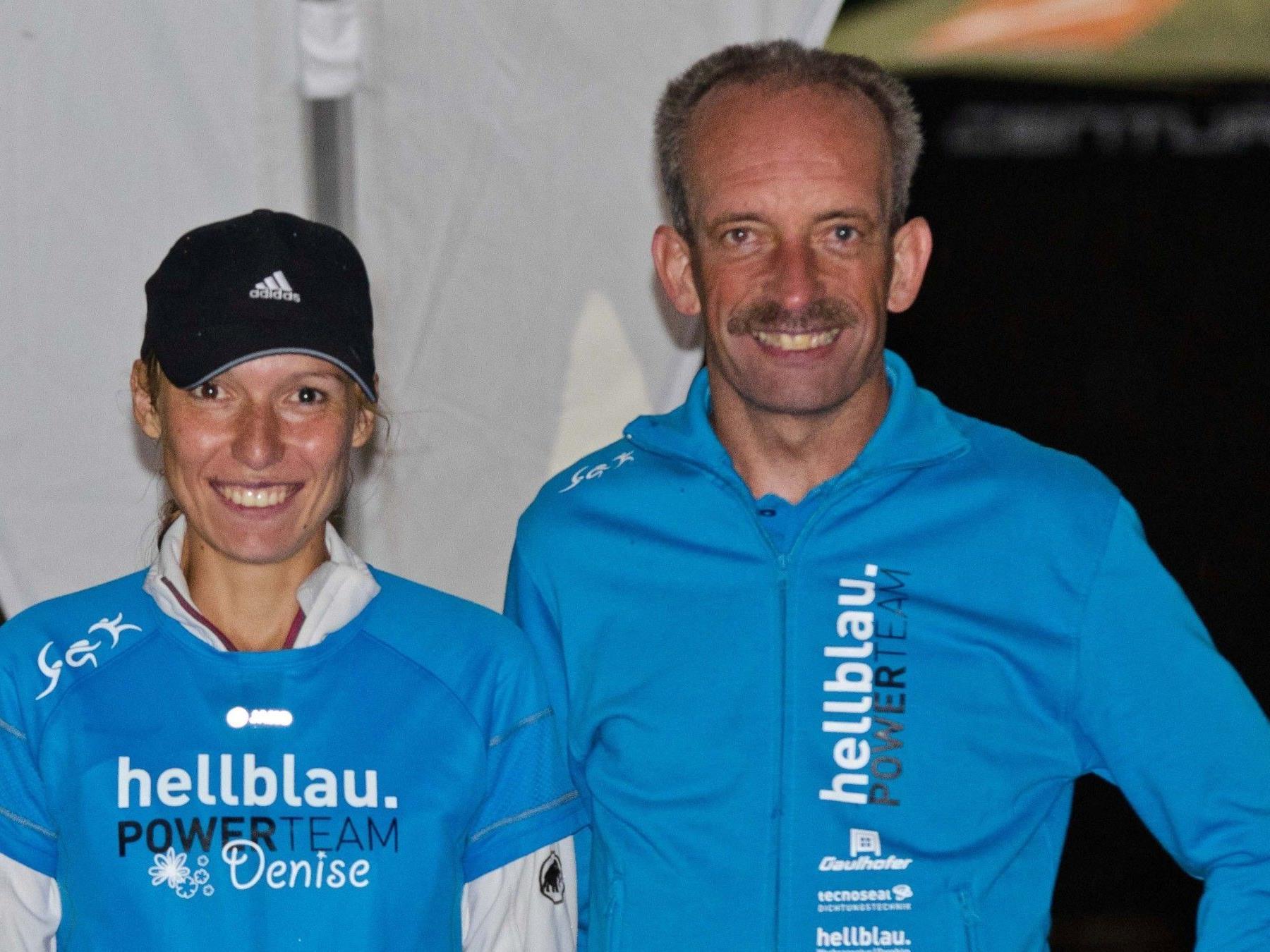 Denise Neufert und Harald Schwar
