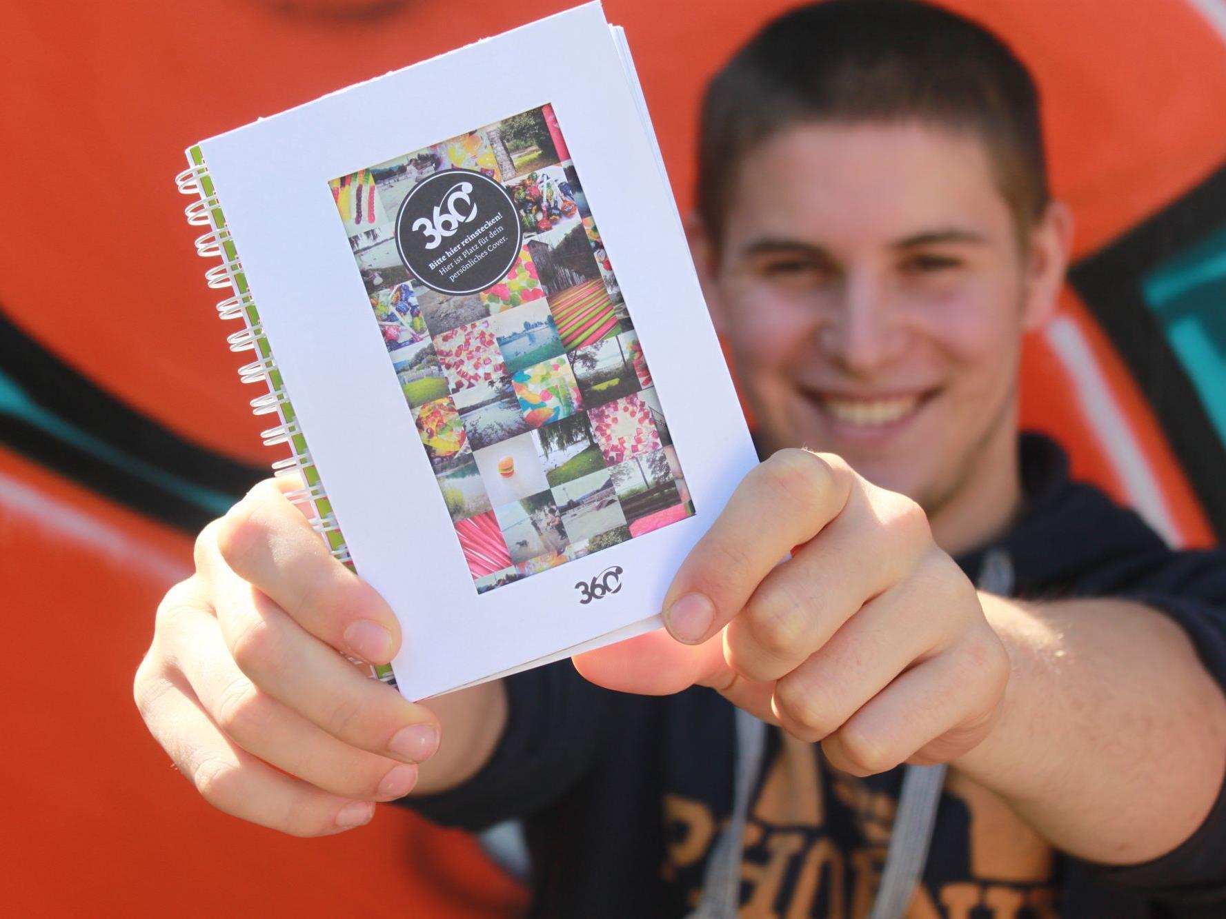 Am 360-Stand auf der Herbstmesse gibt's neben coolen Aktionen auch den aktuellen 360-Kalender.