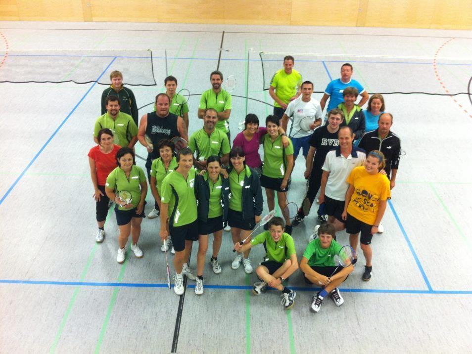 25 der 31 Teilnehmer des ersten Trainings