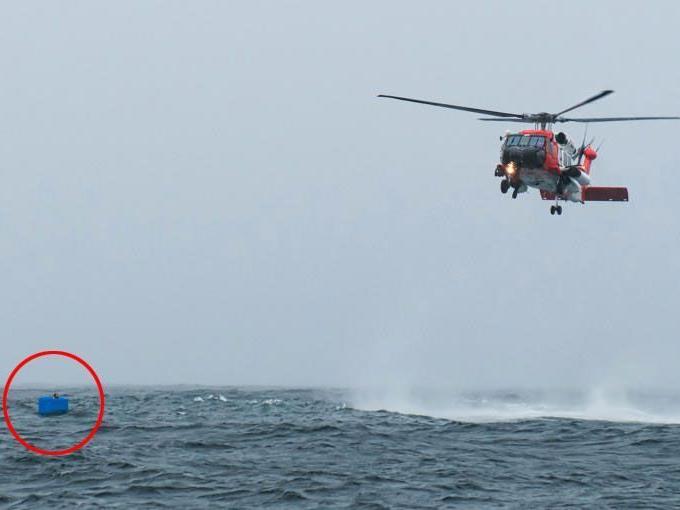 Küstenwache rettete den 19-Jährigen.